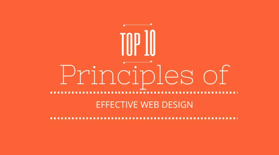 top 10 principles of web design