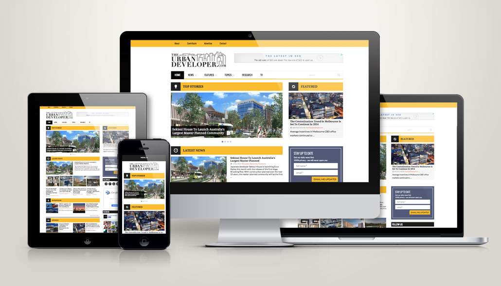 mobile and responsive websites