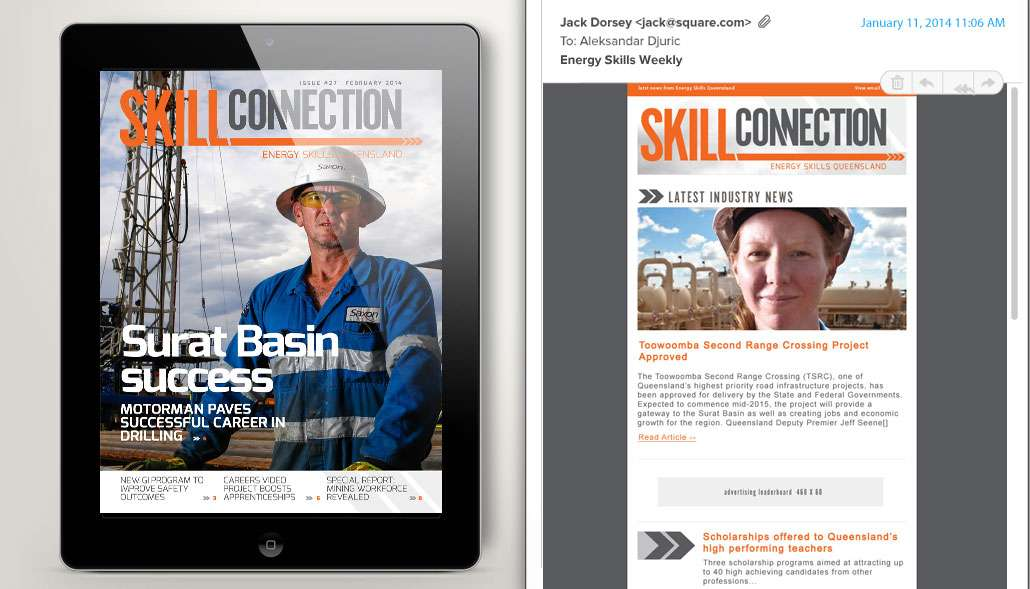 Energy Skills Newsletter Redesign