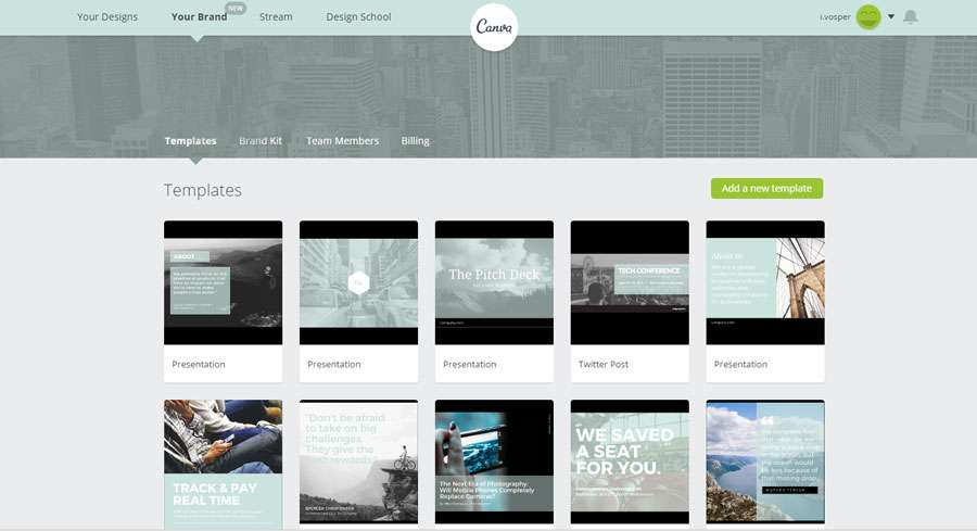 Canva for Business Online Graphics Tool