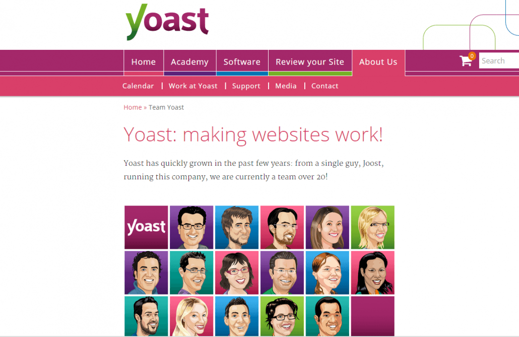 Yoast SEO online business tool