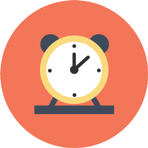 Vector design of Brisbane antique clock face