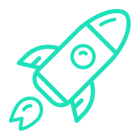 outline-drawing-of-rocket-web-design-brisbane