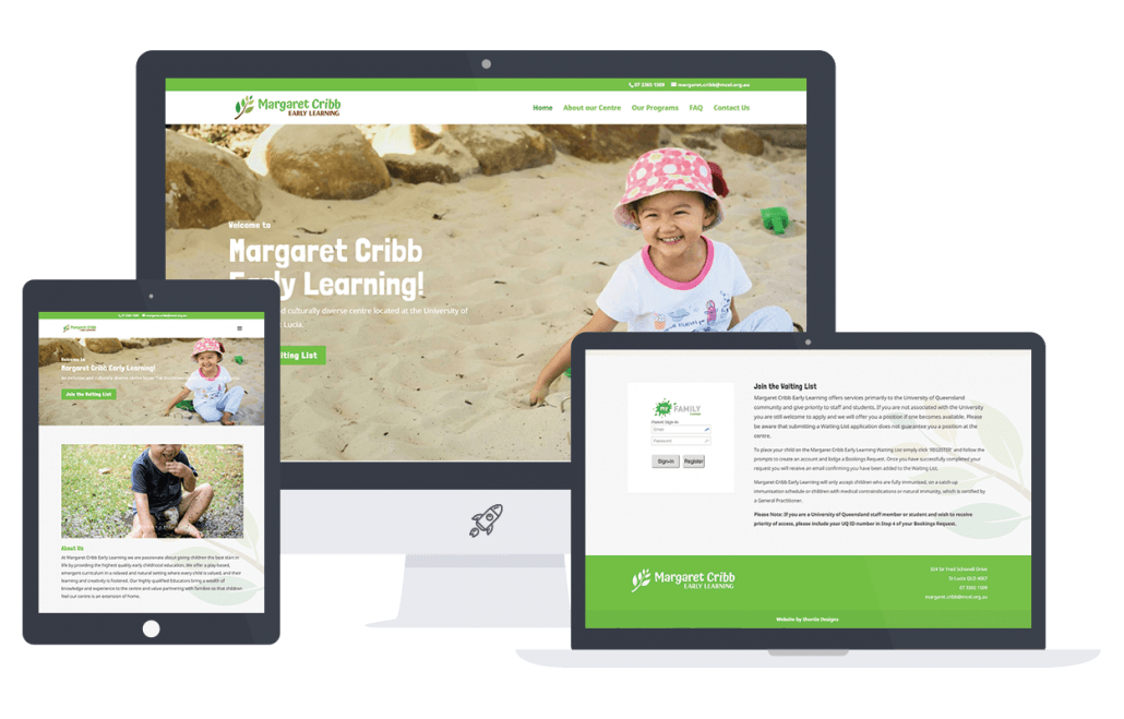 margaret cribb childcare wordpress site