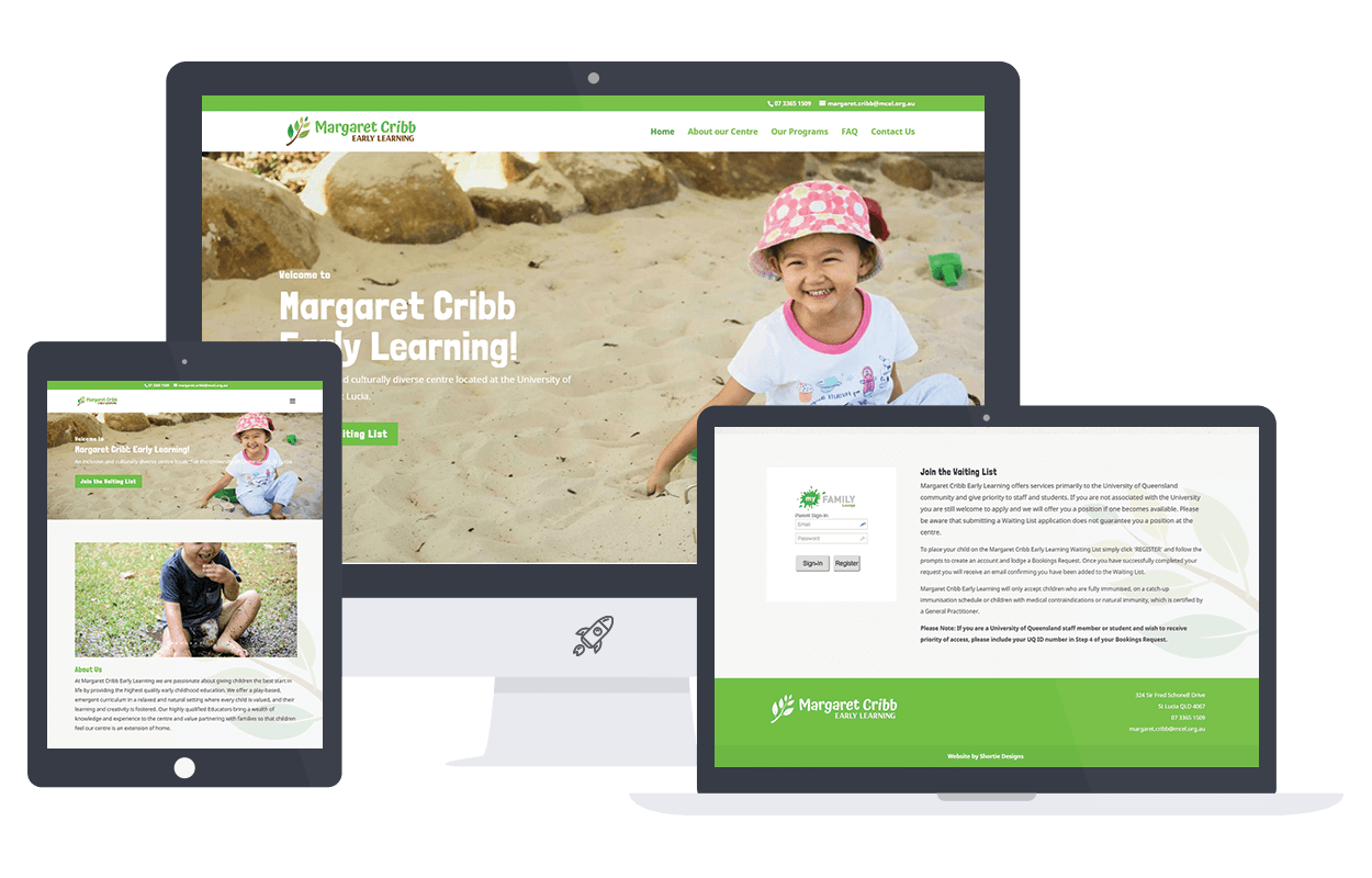 margaret cribb childcare wordpress site