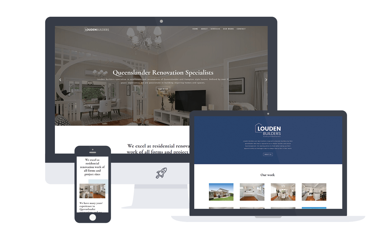 Brisbane Builders Website